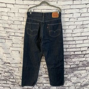 Levi's 550 Relaxed Fit Jeans Dark Wash